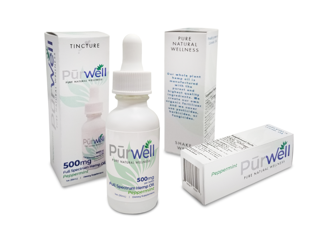 PurWell package and label design by KDM