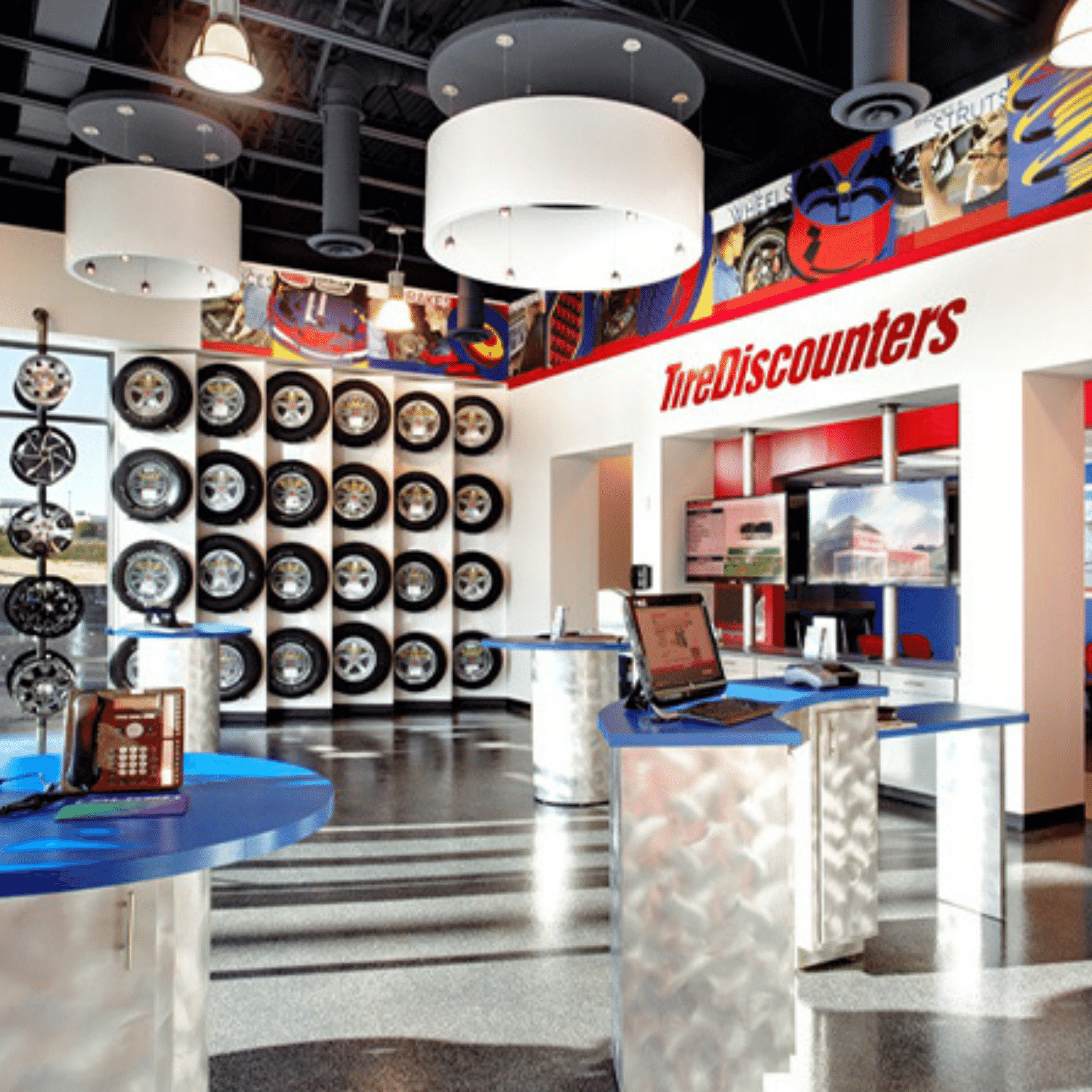 inside tire discounters redesign