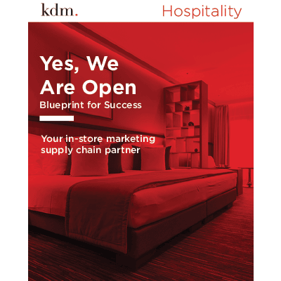 in store marketing solutions hospitality
