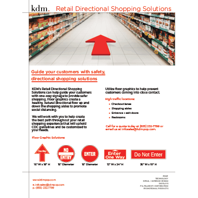 sale sheet Retail_Directional_Shopping_Solutions