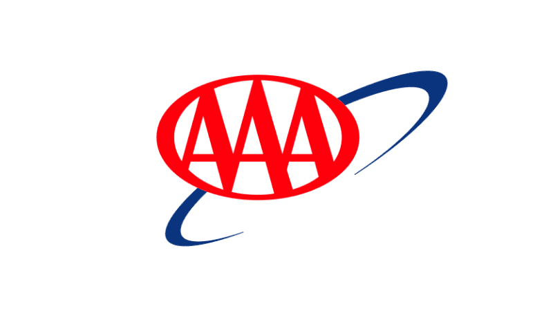 AAA Logo red blue