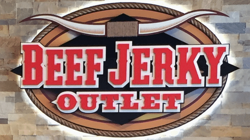 beef jerky outlet log