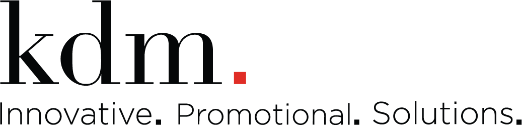 kdm promotional products logo